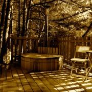 cabane et spa