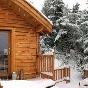 cabane dans les arbres avec spa