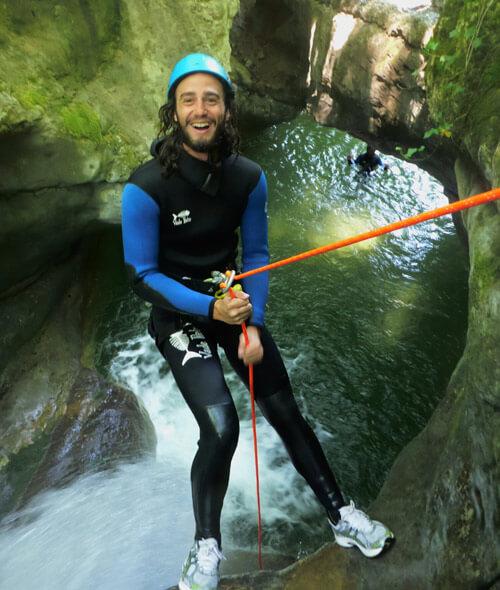 canyoning bauges